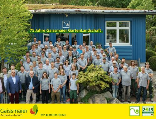 75 Jahre Gaissmaier GartenLandschaft
